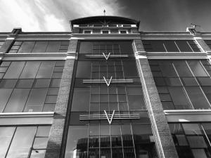Verre, affaires, noir et blanc, architecture, façade, bâtiment