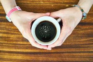 купа, керамика, кафе, напитки, таблица, ръката, Гледай, гривна