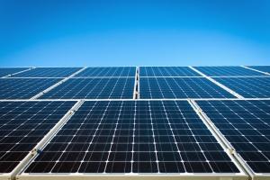 Solarna, energija, solarna, struja