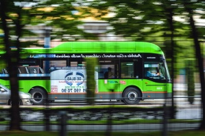 transport, pasażer, miasta, koło, autobus, samochód