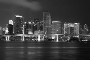 Річка, міст, місто, downtown, архітектура, будівництво
