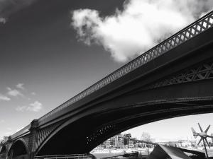 most, sky, cloud, strechy, veterný mlyn, plot