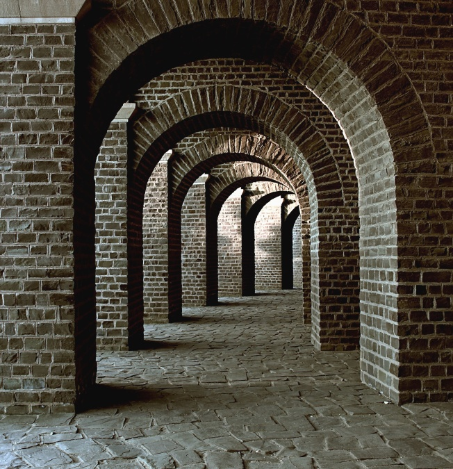 Free Picture Brick Architecture Building Arch Wall