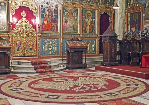 Kirche, christentum, ikone, altar, heiliges, holz, innenraum