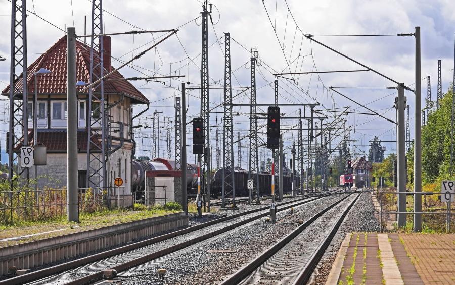 stanice, trag, veza, prijevoz, željeznički, željeznica, semafor