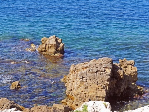 rocks, ocean, sea, coast, water, landscape, coastline, stone, travel