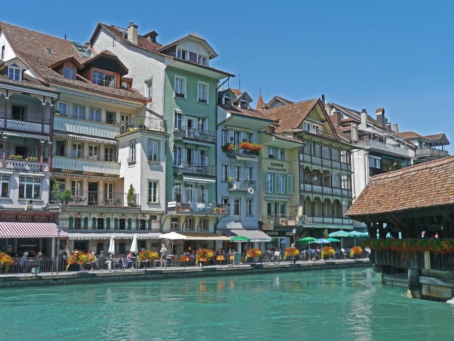 Canal, ville, tourisme, eau, voyage, architecture, bâtiment, rue, côte