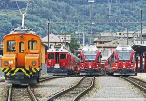 mozdony, vonat, jármű, állomás, utazás, szállítás, vasúti