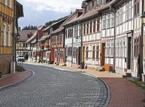 Strada, architettura, città, casa, strada, cielo, urbano, città
