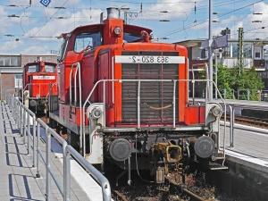 Locomotora, tren, vehículo, electromotive, transporte