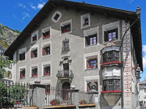 architecture, city, balcony, window, facade, street, house, fence