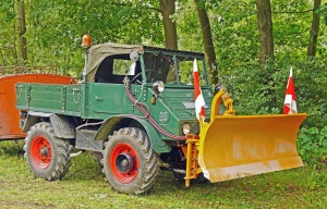 vehicle, transport, wheel, truck, snow plow, machinery, forest