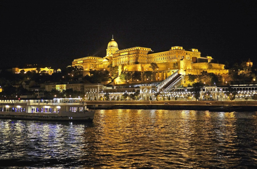 water, architecture, history, travel, tourism, river, boat, night