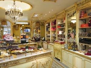Boutique, lustre, meubles, intérieur, luxe