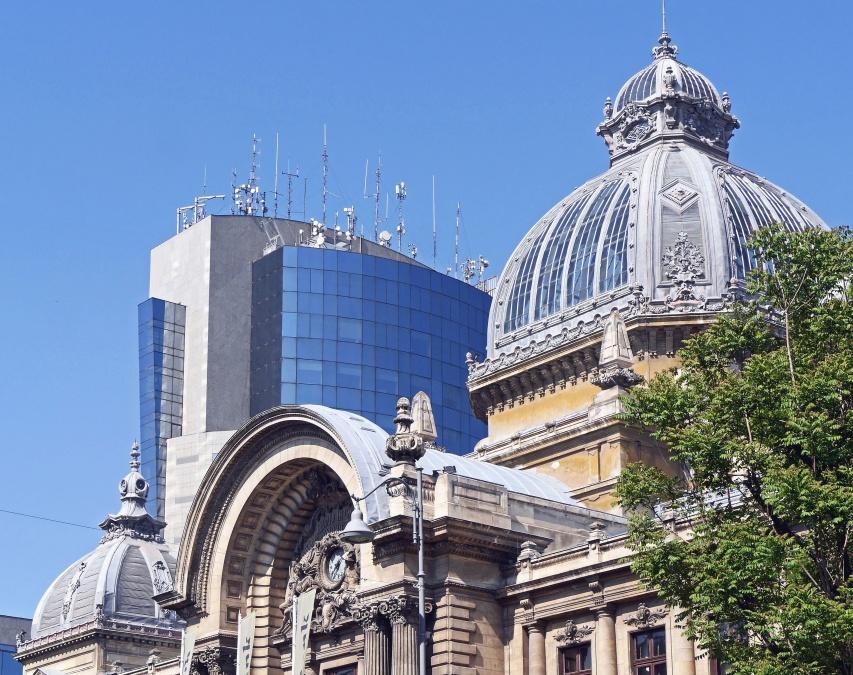 architecture, city, sky, landmark, dome, building, facade, window