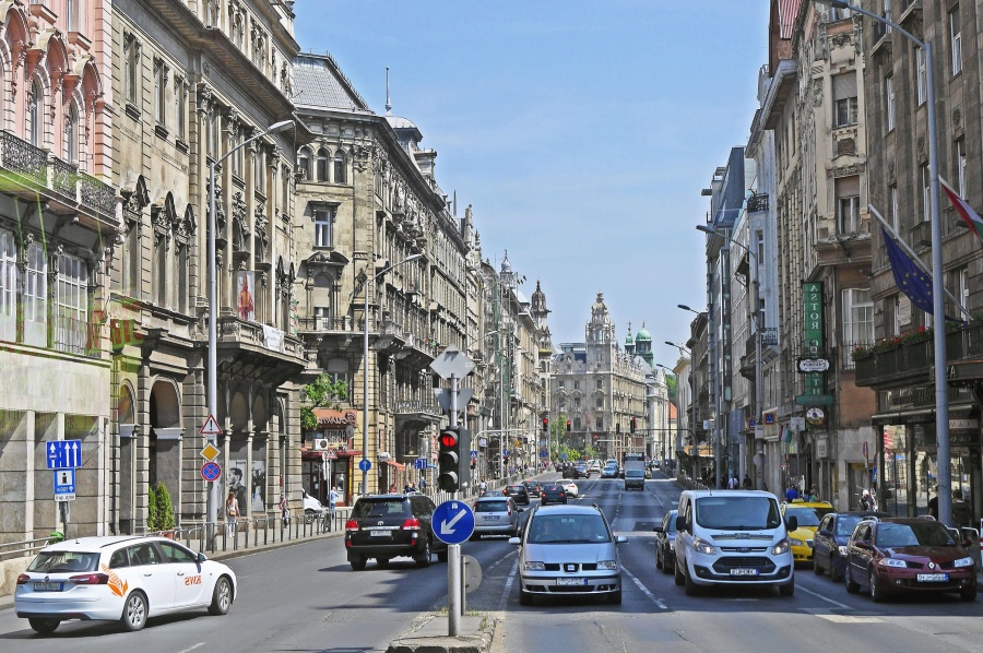 street, road, city, architecture, automobile, asphalt