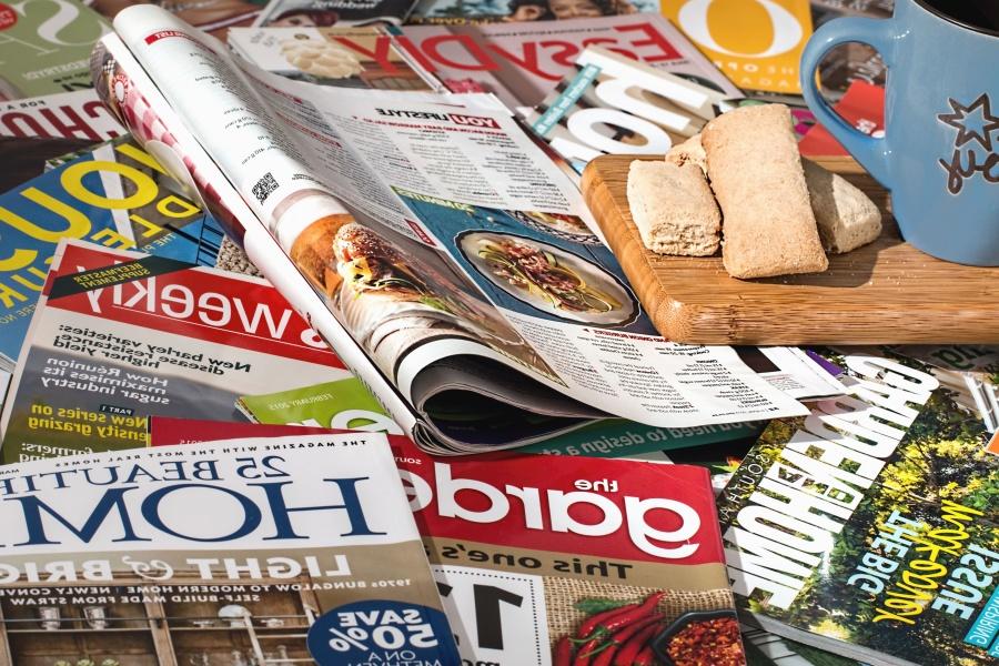 Periódico, información, papel, colorido
