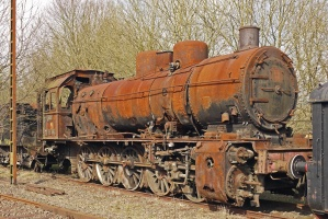 locomotive, machine, vehicle, rust, abandoned, railways