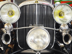 headlight, grille, car, vehicle, classic, oldtimer