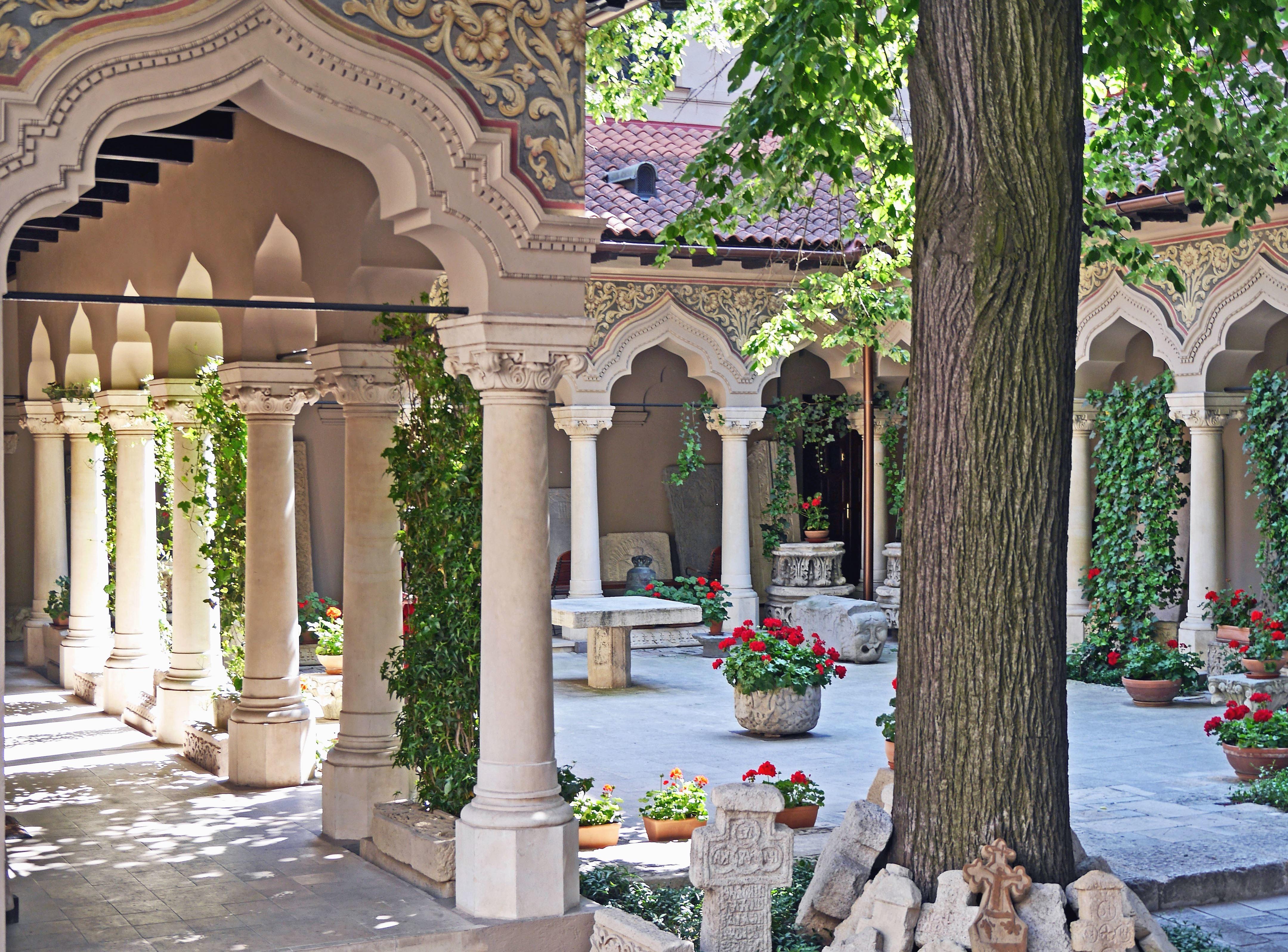 Kostenlose Bild Bogen Bau Haus Architektur Garten