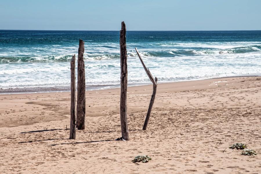 beach, ocean, sand, sea, water, coast, vacation, tropical, summer, sky