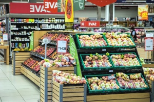 marketplace, shop, supermarket, vegetable, fruit, food