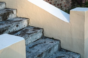 concrete, stairs, construction, architecture, texture