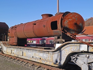 metal, rust, locomotive, engine, steam