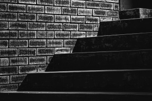 wall, brick, stairs, concrete, texture, shadow