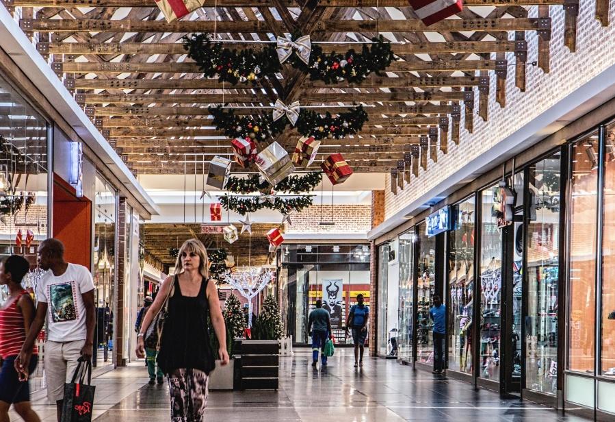 shopping center, people, gift, decoration, celebration