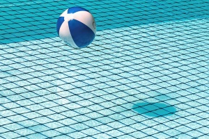 ball, swimming pool, tiles, ceramics