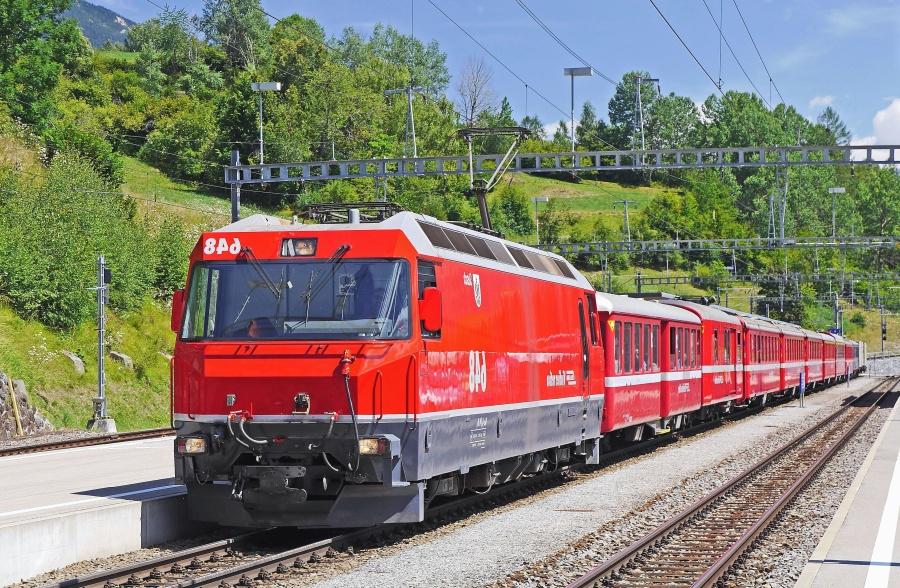 locomotive, transport, railroad, passenger, wagon, electromotive, mountain