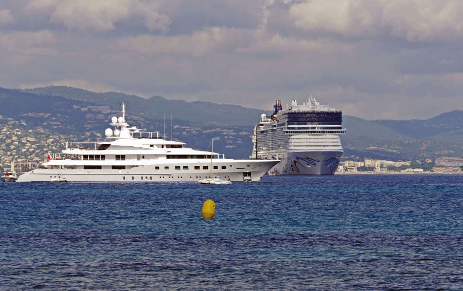 Barco, mar, isla, yate, crucero, viaje, vacaciones