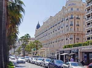 street, car, city, building, facade, window, tourism, palm