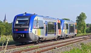 vlak, željeznica, prijevoz, putovanje, drvo