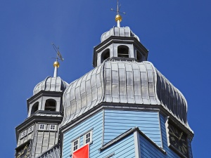 dome, roof, building, sky, facade, church
