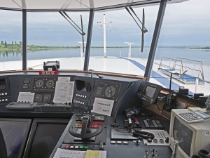 Barco, timón, tecnología, equipo, electrónica, agua