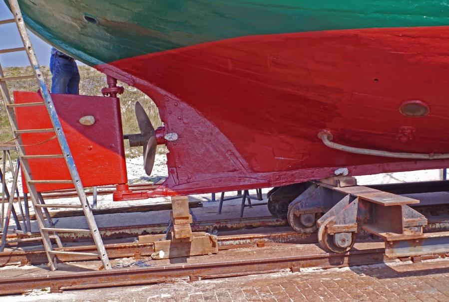 ship, propeller, water, transport, metal, repair
