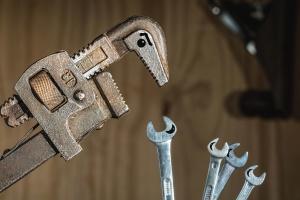 Llave, herramienta de mano, destornillador, metal, mecánico, tornillo