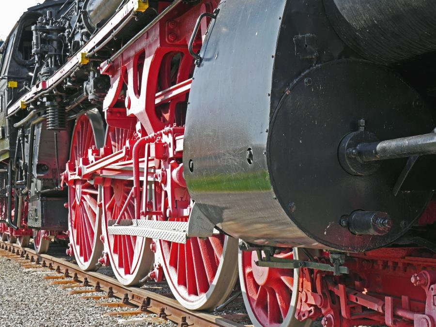 train, engine, machine, wheel, locomotive, transportation