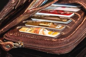 Tasche, Karte, Kredit, Geld, Geschäft