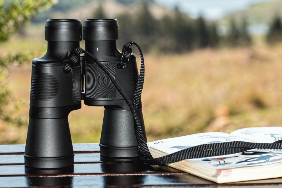 binoculars, instrument, device, lens