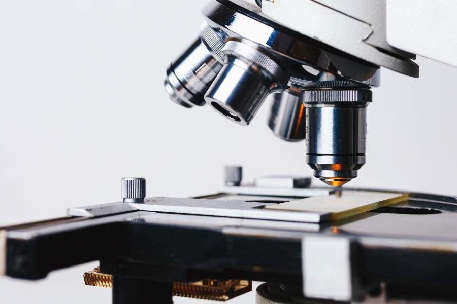 Microscope, science, biologie, médecine, préparation, optique, technologie