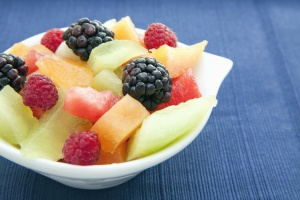 blueberry, cantaloupe, raspberry, watermelon, food, dessert, fresh, fruit, diet, bowl