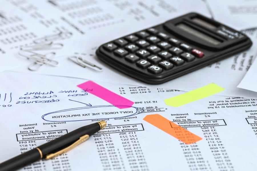 Počítání financí, kalkulačka