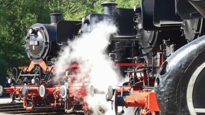 steam engine, train, metal, engine, steam locomotive, power, oldtimer