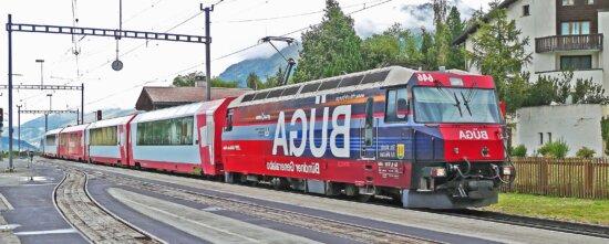 Zug, Transport, Eisenbahn, Lokomotive, Bahnhof, Stadt