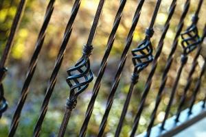 ograde, metalne, željezne, kovanje, terasa