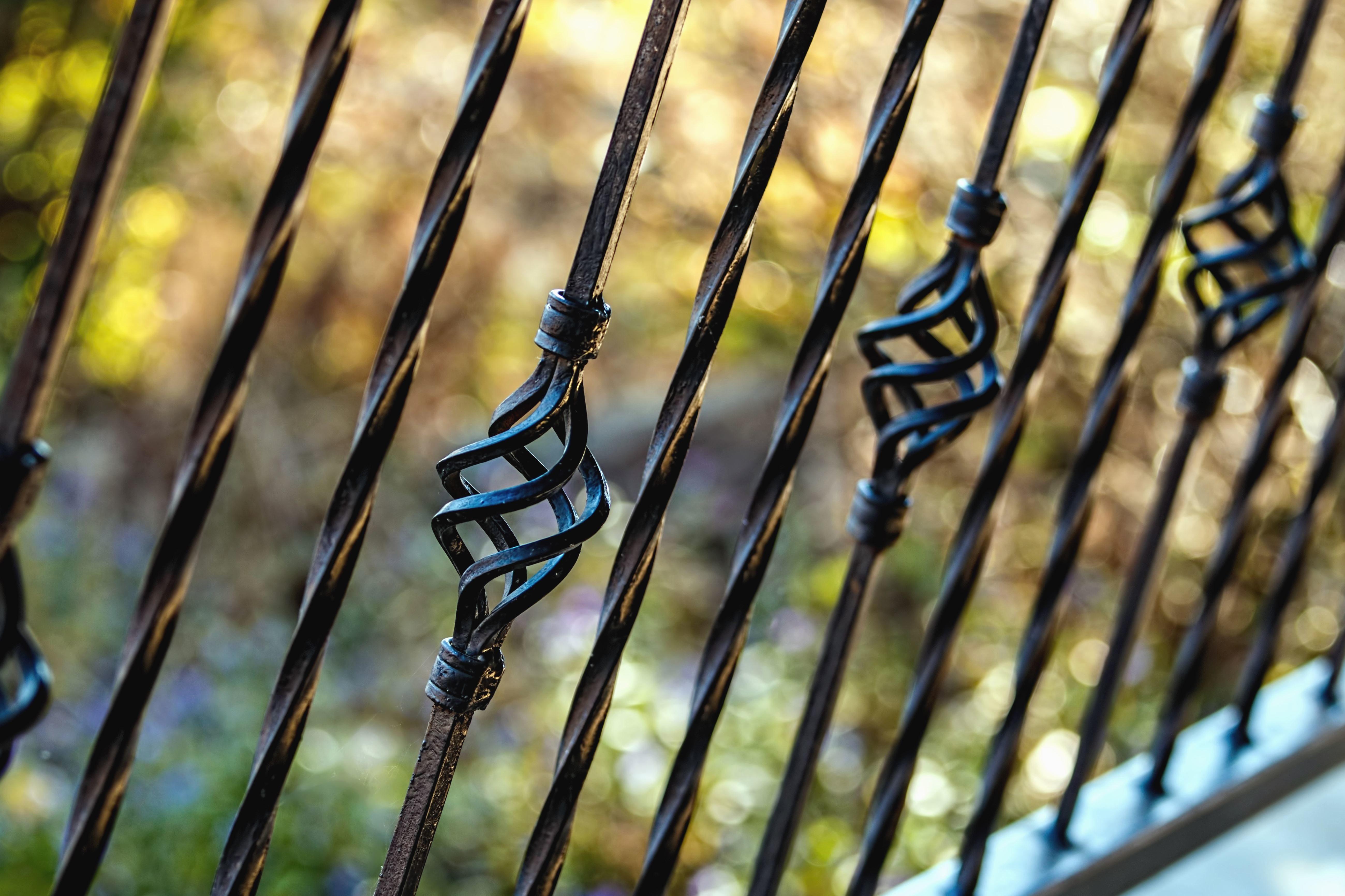 Kostenlose Bild Zaun Metall Eisen Schmieden Terrasse