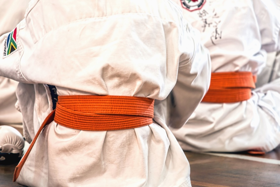 sport, karate, clothes, person, fabric